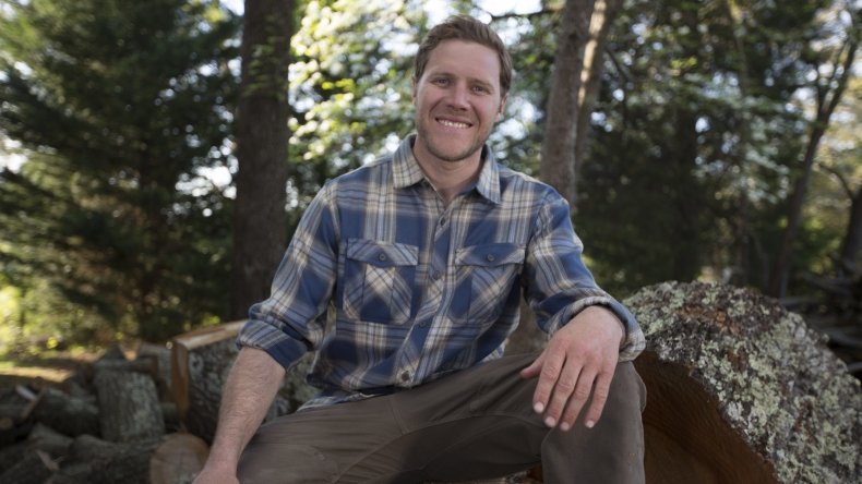 Zack Giffin interview from Tiny House Nation on FYI