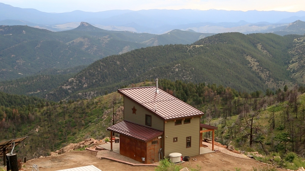 colorado tiny house landscape Colorado Tiny House Pictures