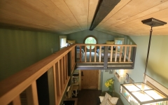 tiny house sleeping loft catwalk - Tiny House With Loft 2