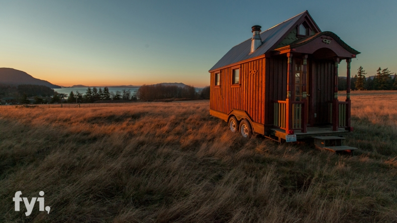 There's always a new and interesting view right over the horizon with a tiny home that you can take on the road.