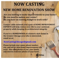 Historic Home Renovation Casting Call