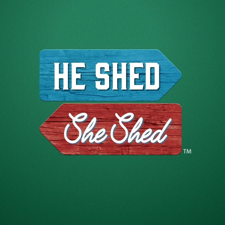 he shed she shed logo
