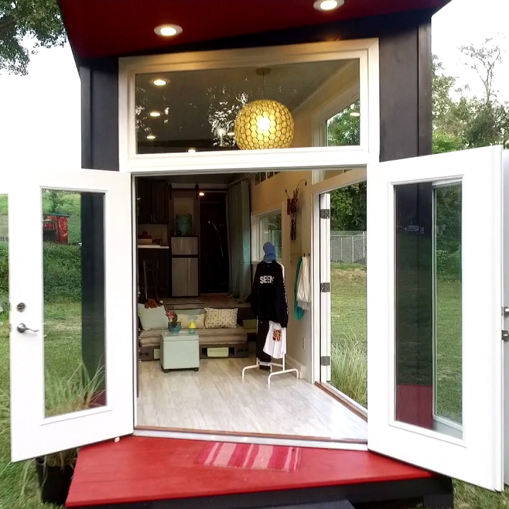 Tiny House Tour: Pop-up Shop House