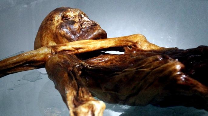 HISTORY News, Otzi the Iceman, Ötzi the Iceman