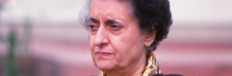 A short biography of Indira Gandhi