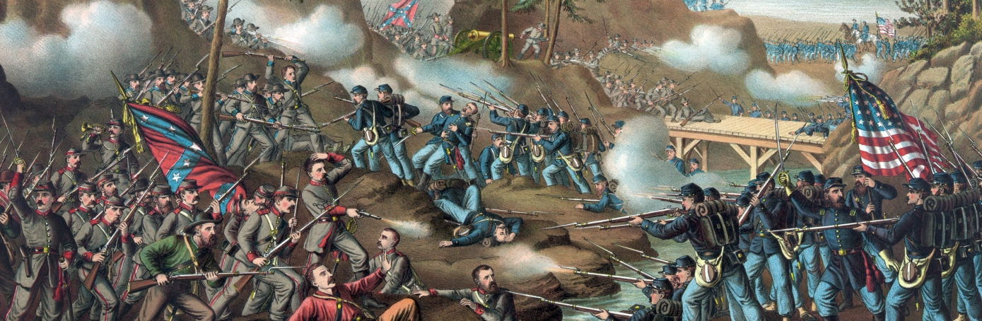 An american battle the civil war in the united states