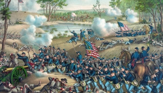 American Civil War, Battle of Cold Harbor, Civil War