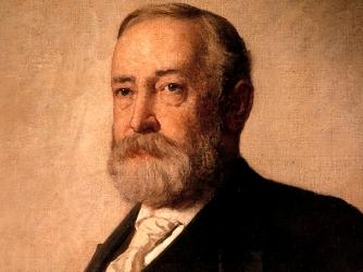 1888: Benjamin Harrison Declares His Presidential Candidacy