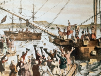 Boston Tea Party Facts And Summary History Com