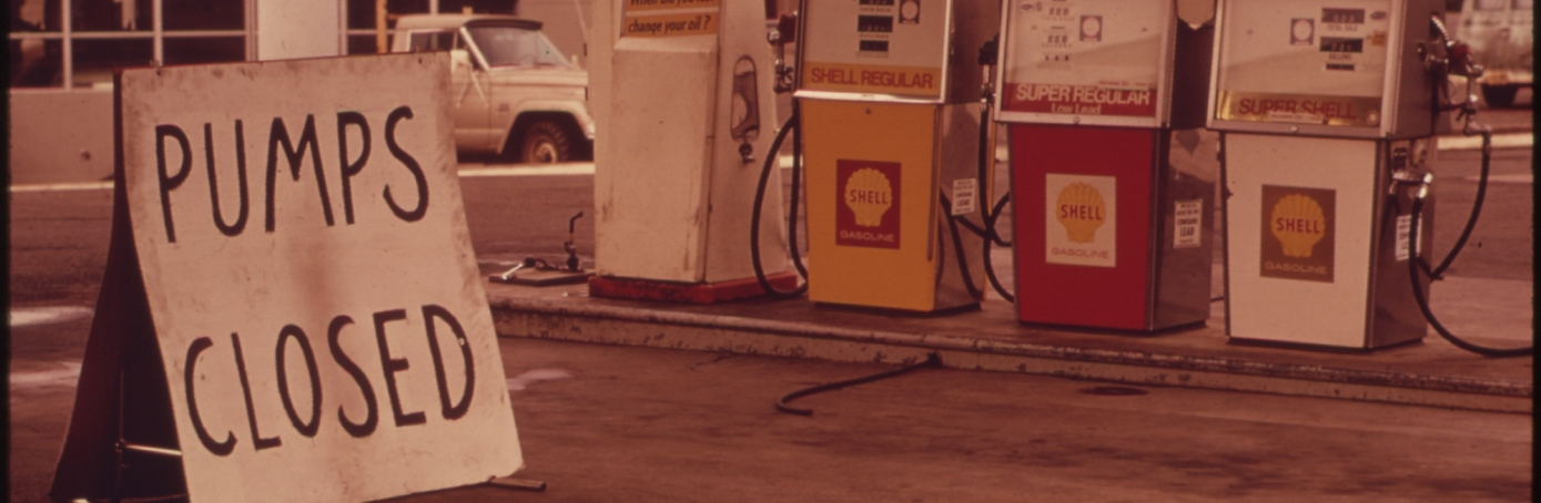 1970s energy crisis, gas shortage