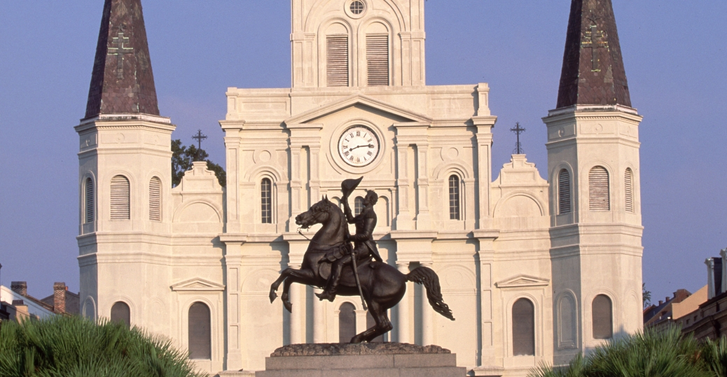 st louis cathedral, new orleans, la, cathedral
