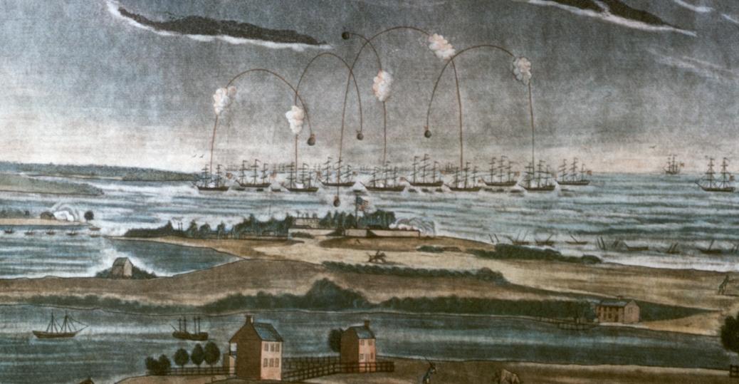 fort mchenry, september 13 1814, star spangled banner, francis scott key's, maryland