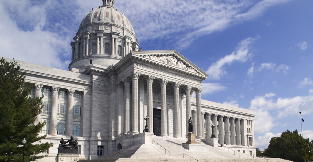 missouri, state capital, capital city, jefferson, jefferson city
