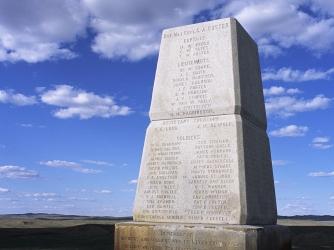 george armstrong custer, little bighorn, battlefield, national monument, montana