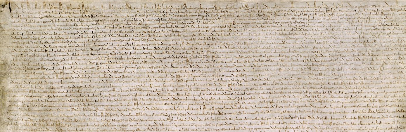 a history of the magna carta libertatum It is impossible to say anything new about magna carta, unless you say  have  been periods in our history when law has acquired an intensely.