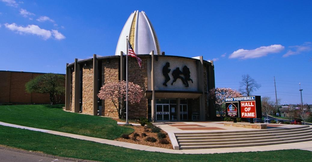 the hall of fame, football hall of fame, canton, ohio
