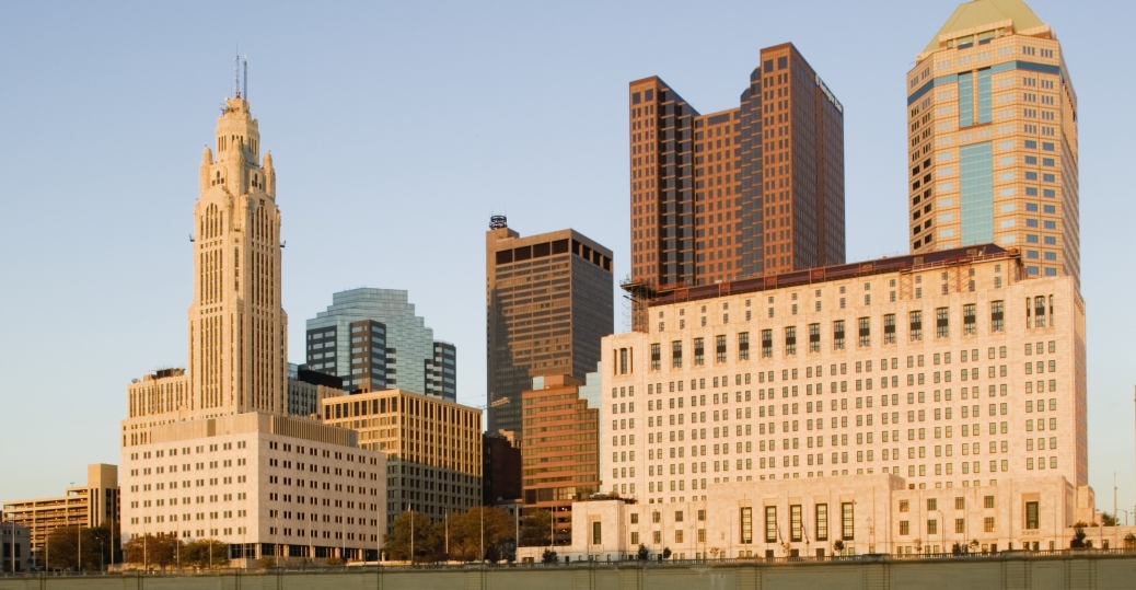 columbus, ohio, largest city, christopher columbus, 1812, state capital, 1816, skyline