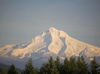 mount hood, oregon, mountain, tallest mountain
