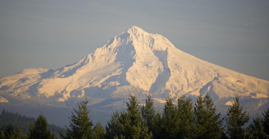 Mount Hood Oregon Mountain Tallest Mountain