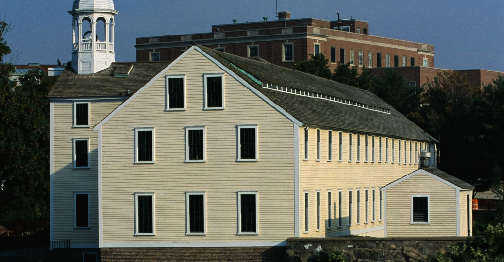 samuel slater, cotton mill, first cotton mill, 1793, rhode island, textile industry, slater mill