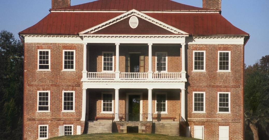 drayton hall, georgian plantation, south carolina