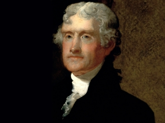 a look into life and accomplishments of thomas jefferson (born april 13, 1743, at shadwell, virginia died july 4, 1826, monticello) thomas jefferson wrote his own epitaph and designed the obelisk grave marker that was to bear three of his.