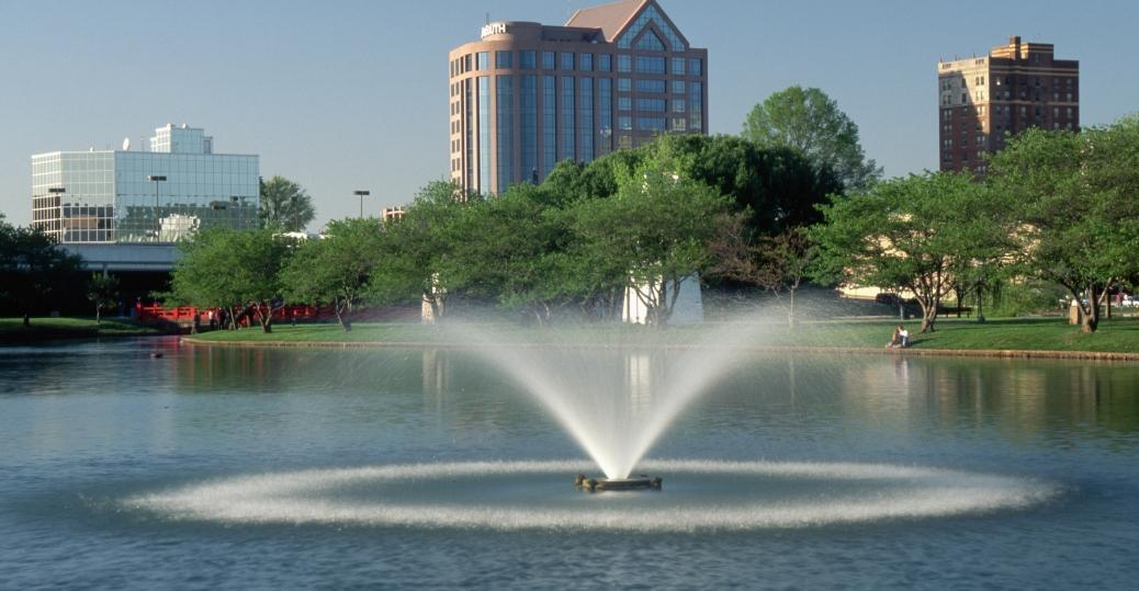 fountain, big spring, international park, huntsville, alabama