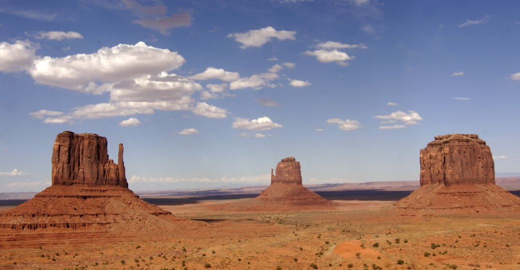 monument valley, sandstone rock, desert, arizona