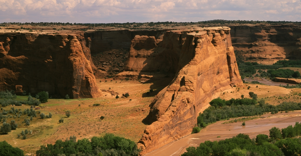 red rock, canyon de chelly, tsegi overlook, native american settlements, arizona