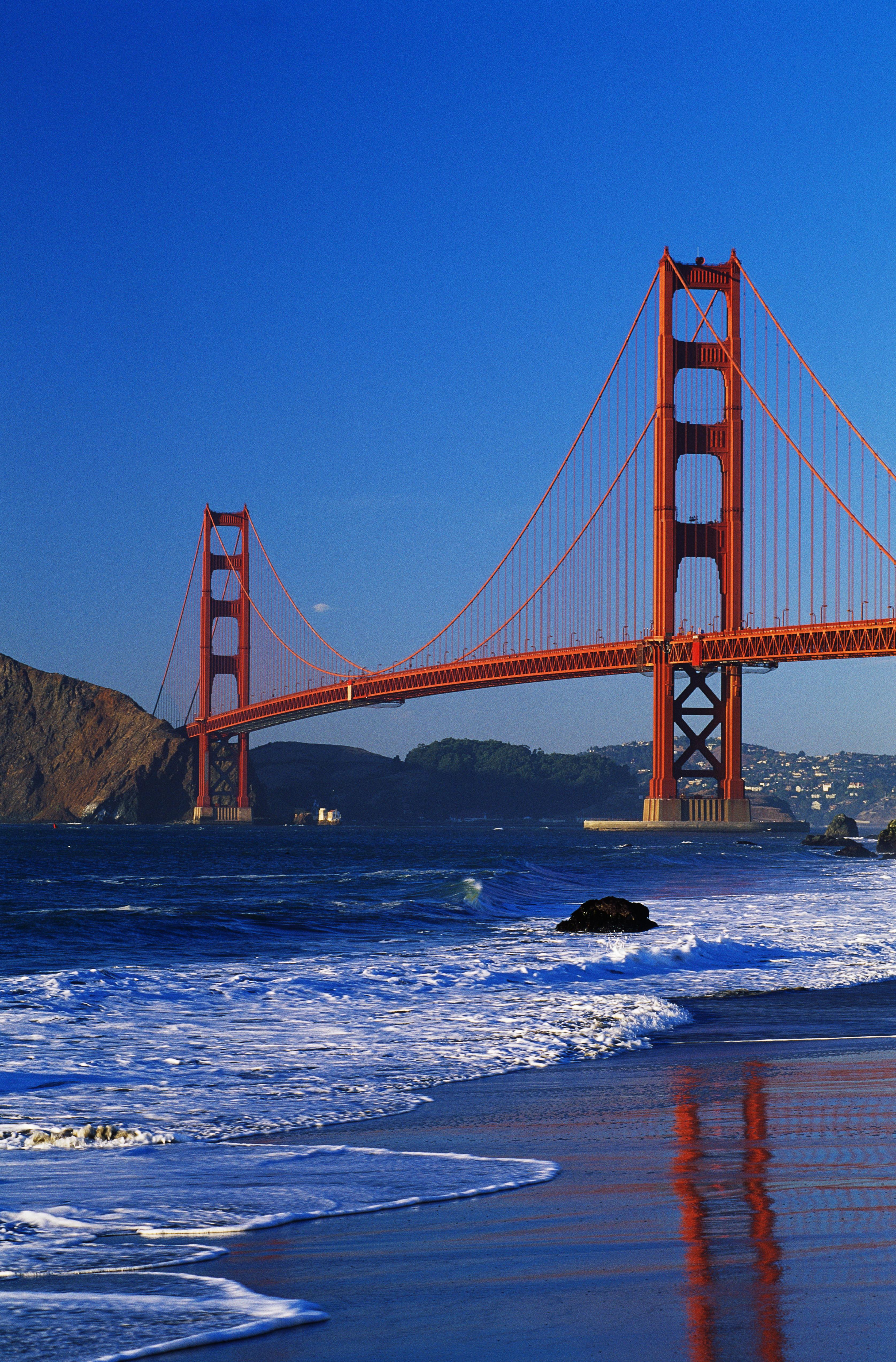 Golden gate bridge 2 california pictures california history the golden gate bridge san francisco california bridges sciox Images