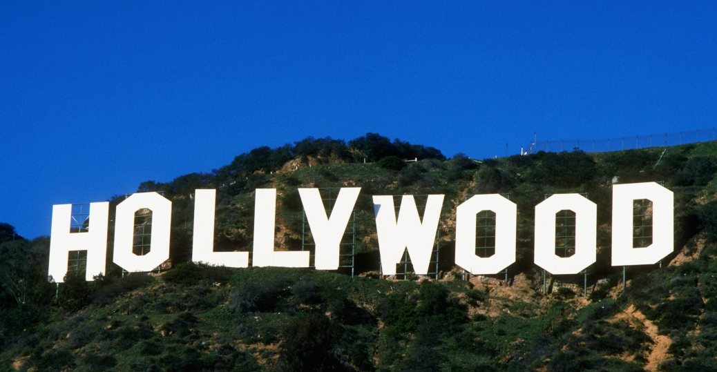 hollywood sign, famous landmark, hollywood, hollywood hills, mount lee, los angeles, california
