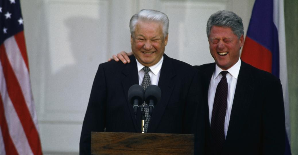 russia, boris yeltsin, bill clinton