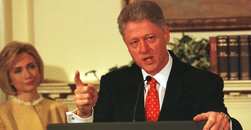 monica lewinsky, bill clinton, impeachment proceedings, affair, lying