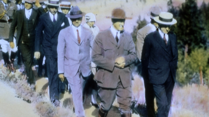 national parks, yellowstone national park, calvin coolidge