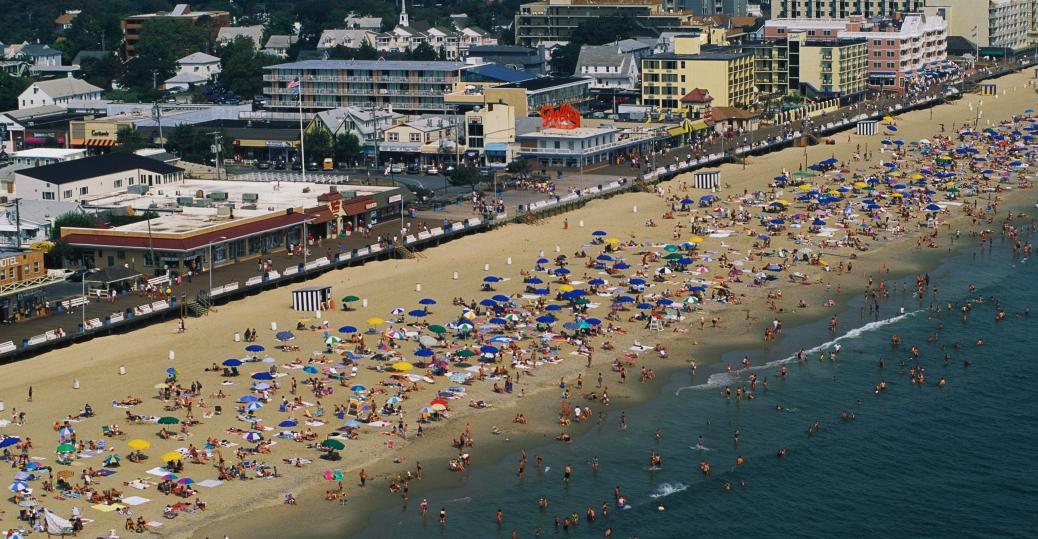 tourists, delaware, beach, resorts