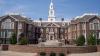 legislative hall, dover legislative building, delaware, colonial structure, architect e william martin