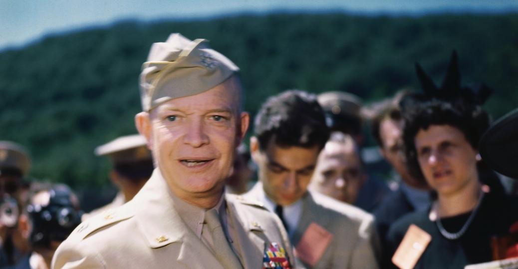 world war II, dwight d eisenhower, war hero