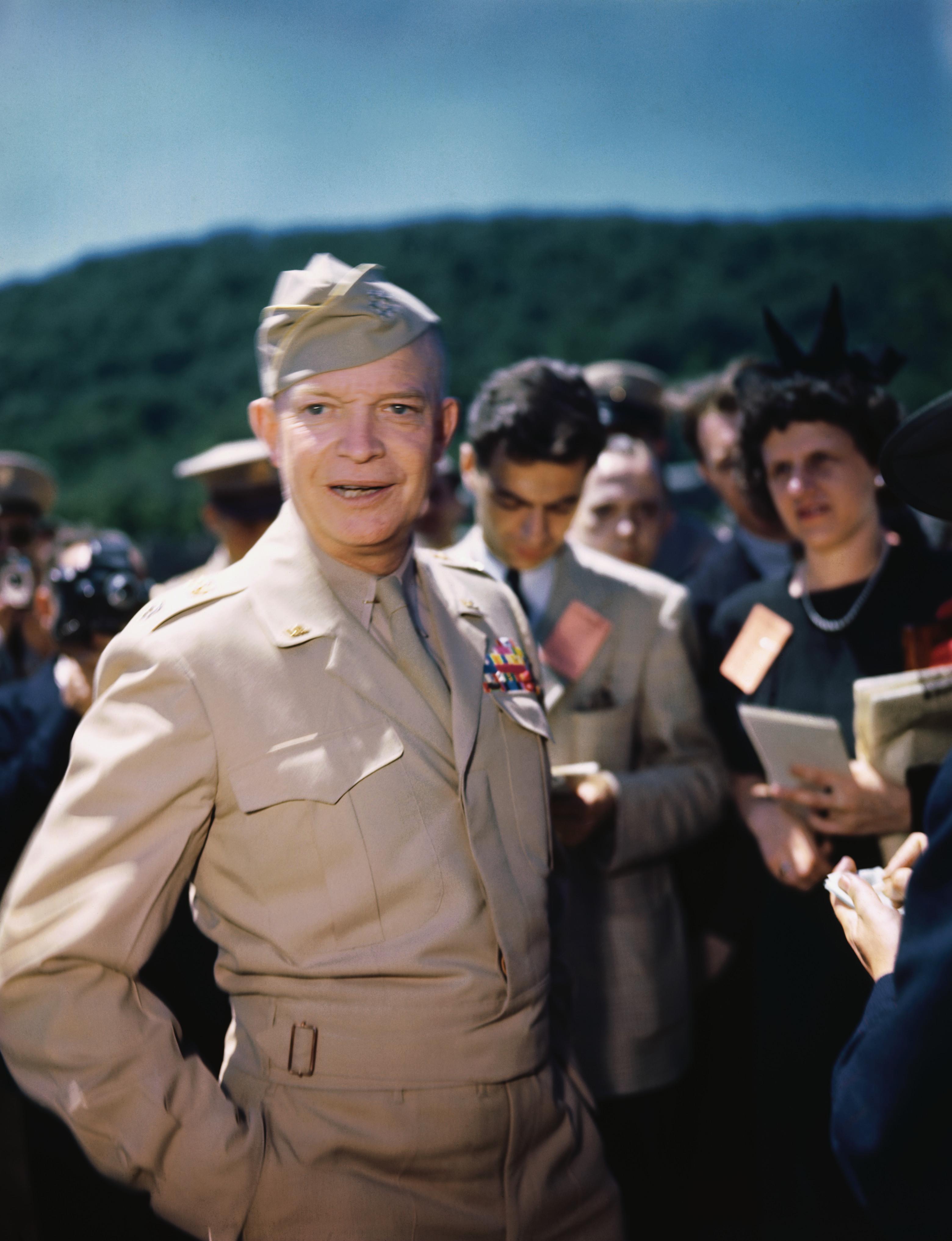 World War II Dwight D Eisenhower Hero