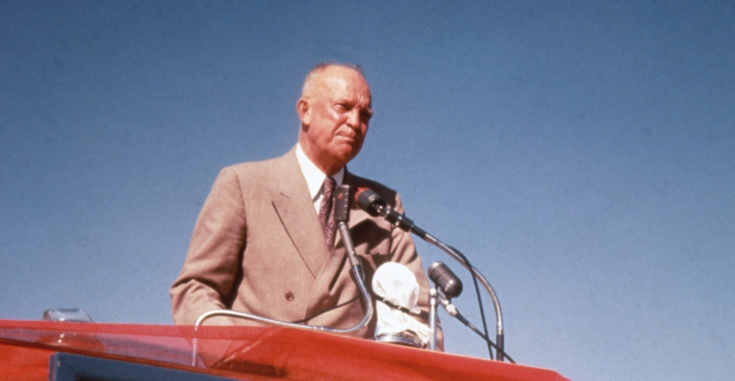republican, 1952, eisenhower, presidential election, we like ike