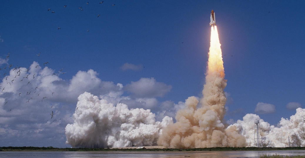 space shuttle, discovery, space shuttle launch, florida