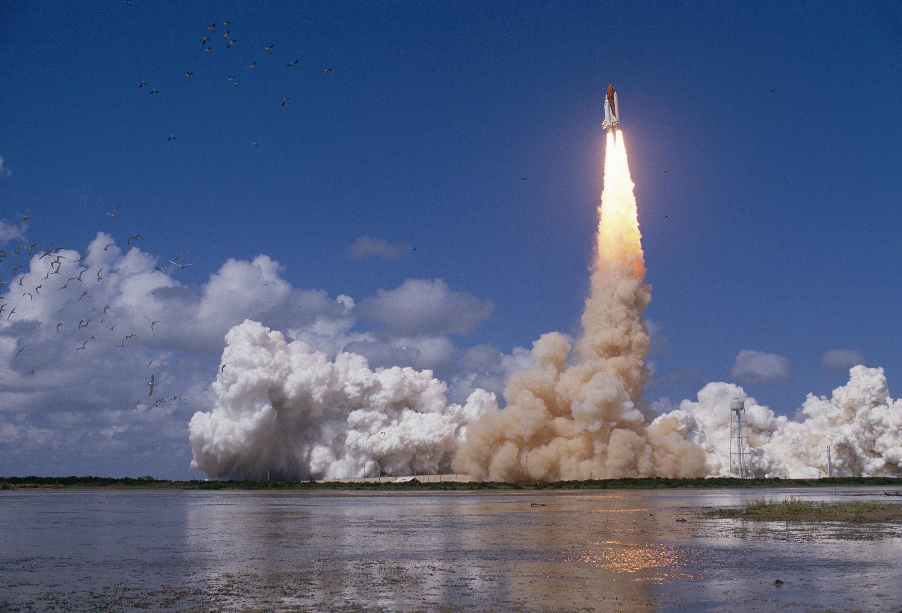 space shuttle launching - photo #22