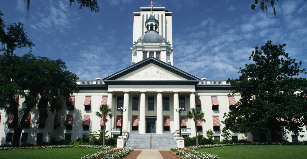 Florida state capitol building florida pictures for Building a house in florida