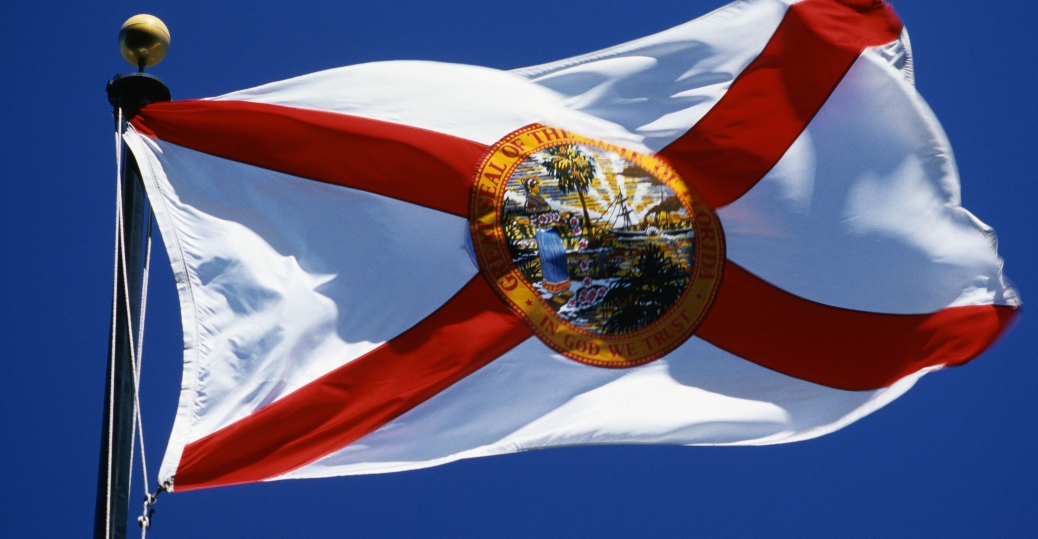 state seal, florida, state flag, florida state flag, the land of sunshine