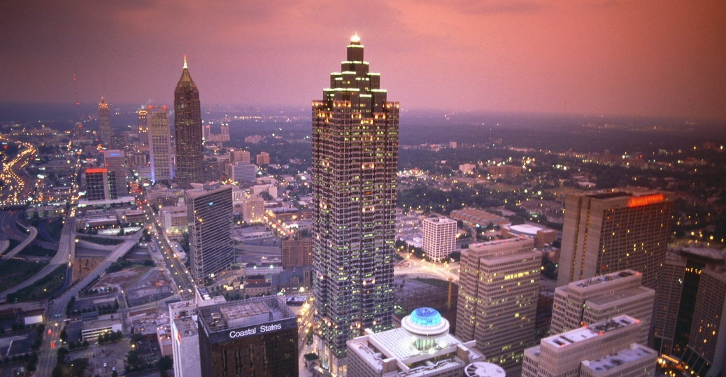atlanta, georgia, capital of georgia, city