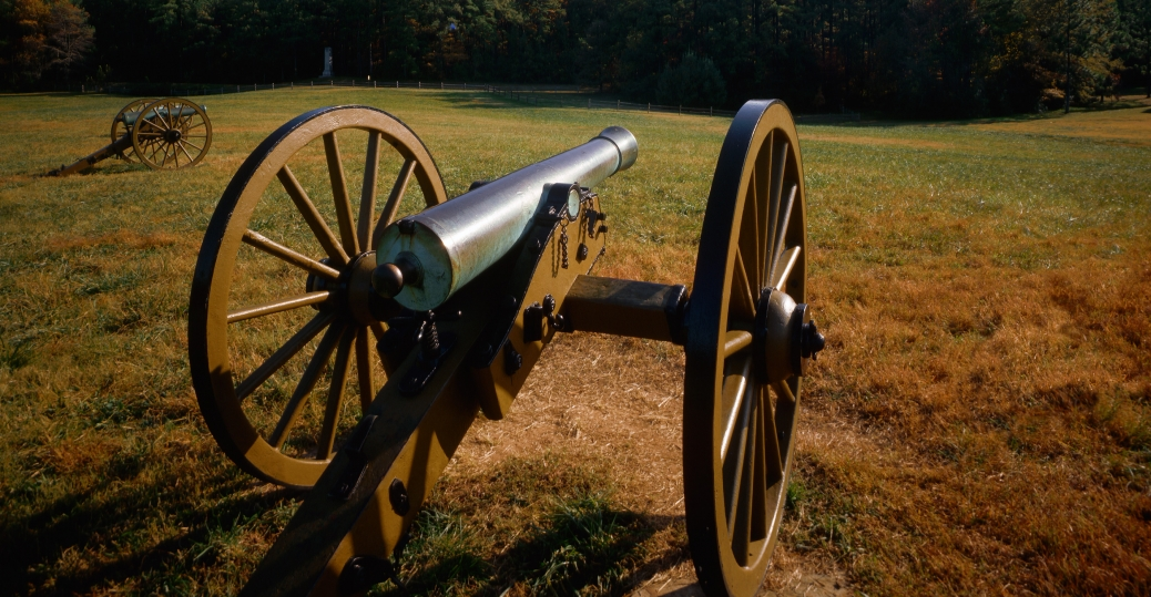 cannons, civil war, kennesaw mountain, national battlefield park, georiga