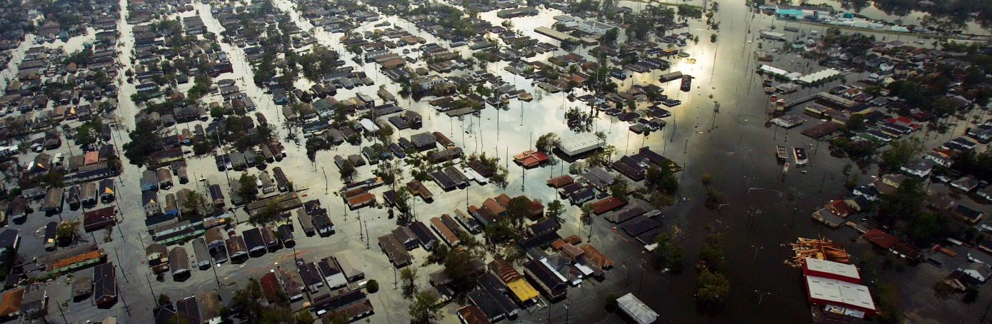 Hurricane Katrina, New Orleans, Louisiana