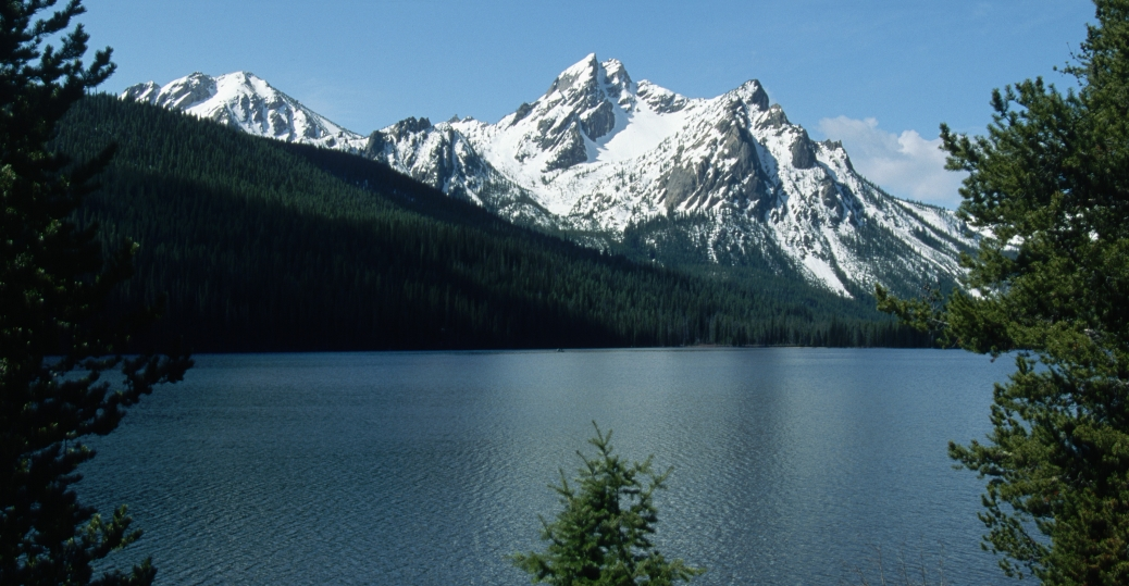 mcgowan peak, stanley lake, sawtooth national forest, idaho