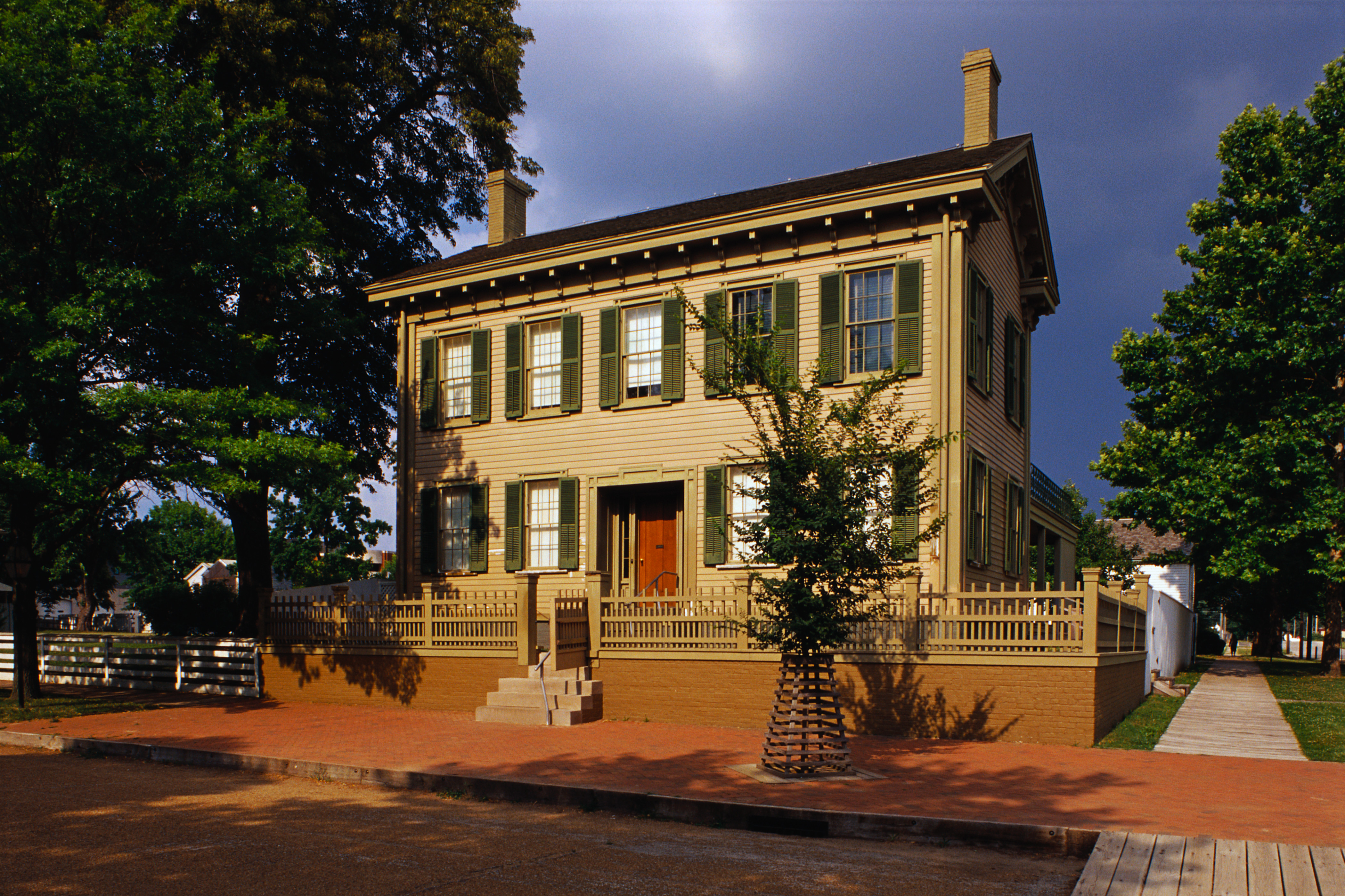 lincoln home national historic site in springfield Illinois