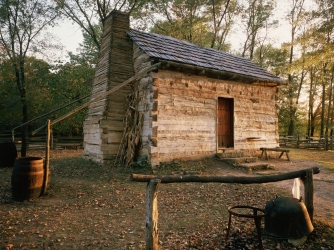 lincoln living historical farm, house, indiana