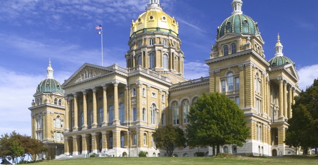 iowa, iowa state capitol, state capitol building, iowa general assembly, des moines